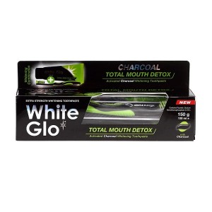 White Glo Pasta Total Mouth Detox 150g