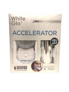 White Glo White Accelerator/ Dentist blue light Technology